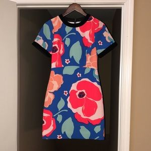 🎉HP🎉Kate Spade Jaq Dive Right Poppy Floral Dress